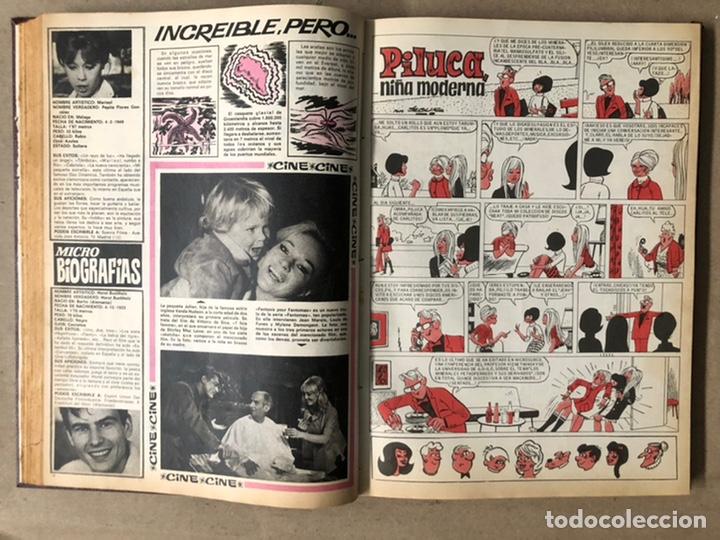 Tebeos: SISSI. REVISTA JUVENIL FEMENINA. 46 EJEMPLARES ENCUADERNADOS EN 2 TOMOS (EDITORIA BRUGUERA AÑOS 60). - Foto 19 - 210947529