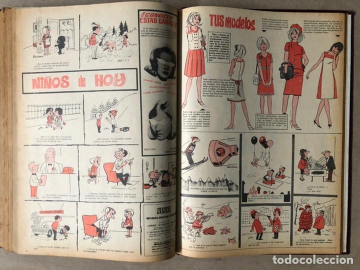Tebeos: SISSI. REVISTA JUVENIL FEMENINA. 46 EJEMPLARES ENCUADERNADOS EN 2 TOMOS (EDITORIA BRUGUERA AÑOS 60). - Foto 36 - 210947529