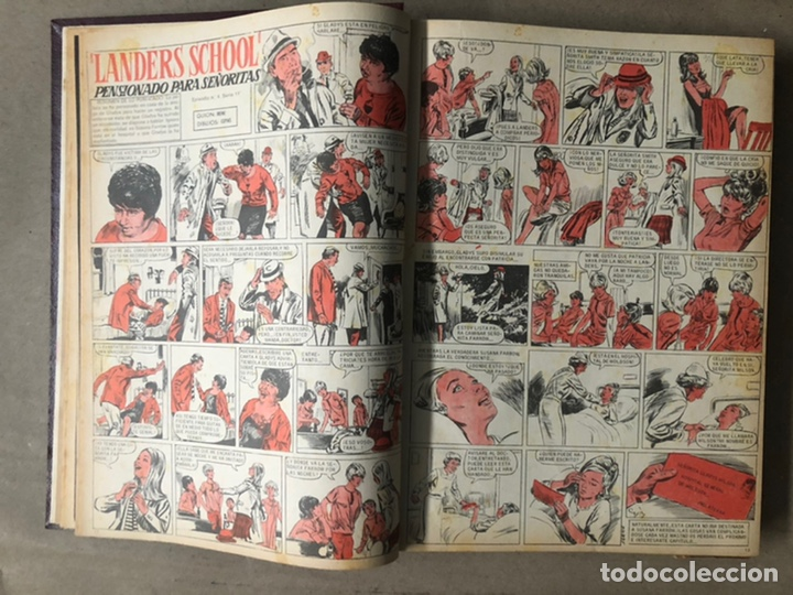 Tebeos: SISSI. REVISTA JUVENIL FEMENINA. 46 EJEMPLARES ENCUADERNADOS EN 2 TOMOS (EDITORIA BRUGUERA AÑOS 60). - Foto 47 - 210947529