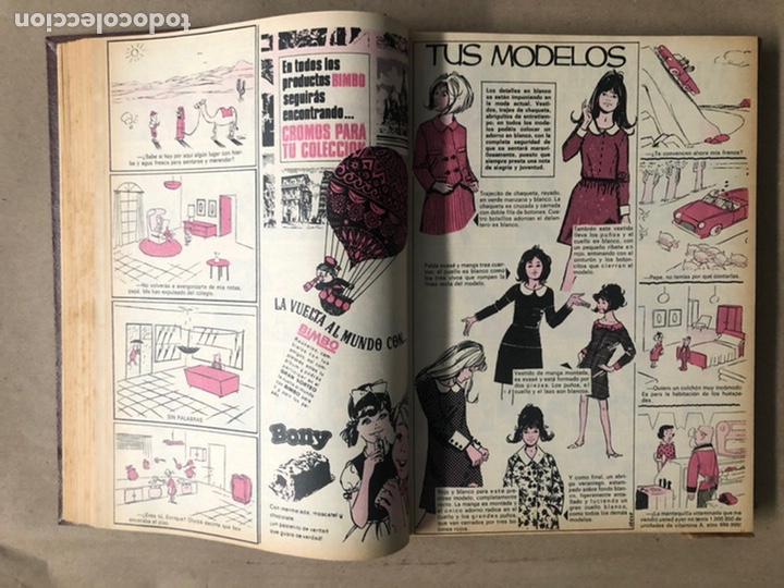 Tebeos: SISSI. REVISTA JUVENIL FEMENINA. 46 EJEMPLARES ENCUADERNADOS EN 2 TOMOS (EDITORIA BRUGUERA AÑOS 60). - Foto 59 - 210947529