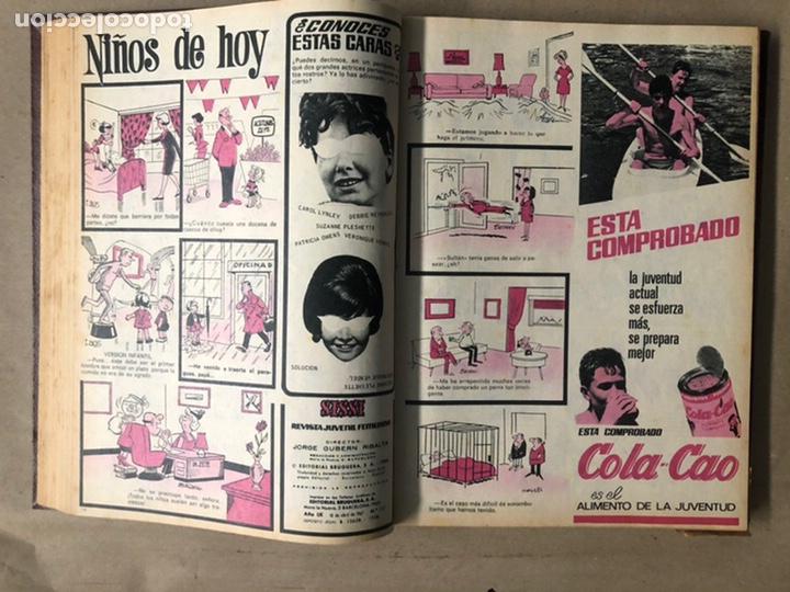 Tebeos: SISSI. REVISTA JUVENIL FEMENINA. 46 EJEMPLARES ENCUADERNADOS EN 2 TOMOS (EDITORIA BRUGUERA AÑOS 60). - Foto 63 - 210947529