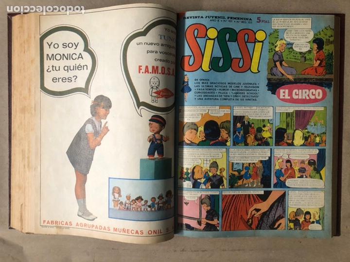 Tebeos: SISSI. REVISTA JUVENIL FEMENINA. 46 EJEMPLARES ENCUADERNADOS EN 2 TOMOS (EDITORIA BRUGUERA AÑOS 60). - Foto 74 - 210947529
