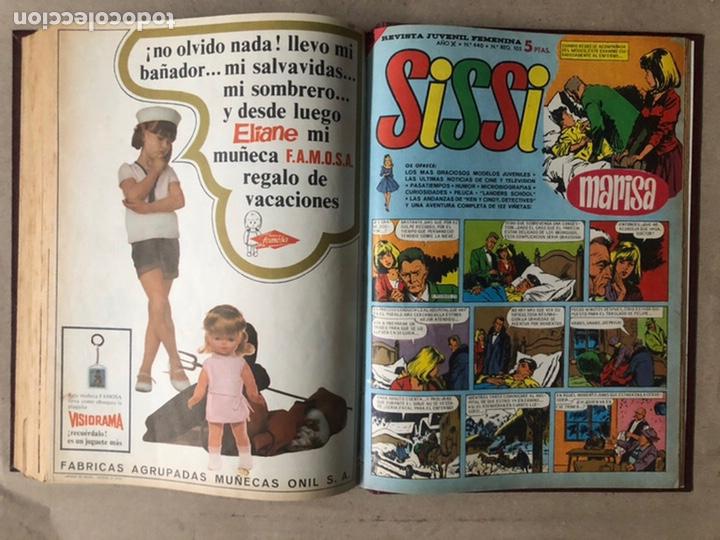 Tebeos: SISSI. REVISTA JUVENIL FEMENINA. 46 EJEMPLARES ENCUADERNADOS EN 2 TOMOS (EDITORIA BRUGUERA AÑOS 60). - Foto 92 - 210947529