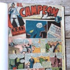 Giornalini: EL CAMPEON EDITORIAL BRUGUERA (1948) 9 NUMEROS (1 AL 9). Lote 210957236