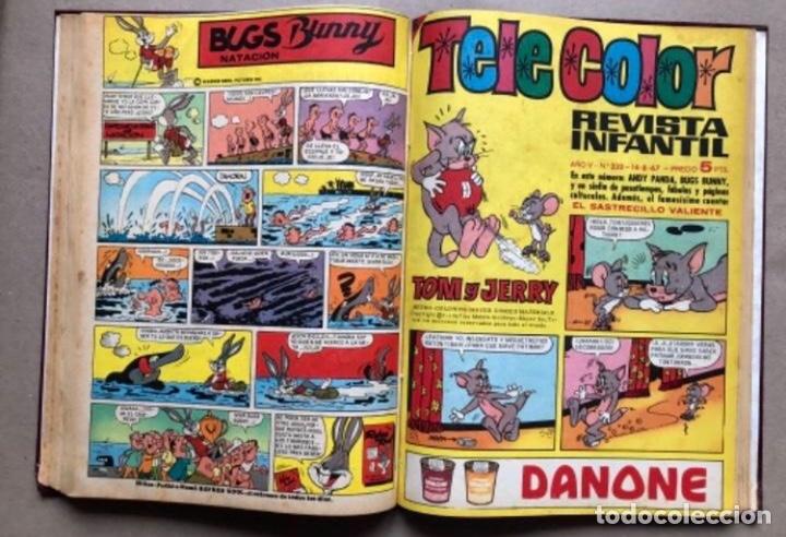 Tebeos: TOMO CON 11 TEBEOS DE LA EDITORIAL BRUGUERA (1967/68). 8 DE TELE COLOR Y 3 DE BRAVO ENCUADERNADOS. - Foto 10 - 210977815