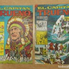 Tebeos: LOTE 2 CAPITAN TRUENO EXTRA - FORMATO GRANDE, NUMEROS CORRELATIVOS - BRUGUERA - AÑO 1966 ...L1559. Lote 211391124