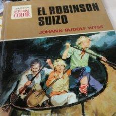 Tebeos: JOHANN RUDOLF WYSS. EL ROBINSON SUIZO. Lote 211456625