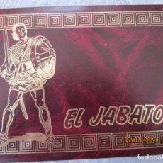 Tebeos: EL JABATO , VOLUMEN IX 313 AL 348 AL AMBOS INCLUIDOS - ENCUADERNADOS MUY BUEN ESTADO. Lote 211458747