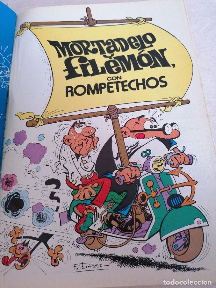 Tebeos: Mortadelo y Filemón. Colección Olé. 340 M. 109. 1° edición 1988 Edición B - Foto 3 - 211474975