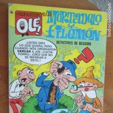 Tebeos: MORTADELO Y FILEMON , DETECTIVES DE OCASION - Nº 11 -OLE - BRUGUERA 1986. Lote 211506452