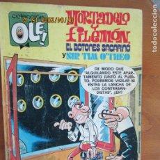 Tebeos: MORTADELO Y FILEMON ,EL BOTONES SACARINO Y SIR TIM O¨THEO , Nº 167 - BRUGUERA 1981. Lote 211506564