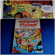 Tebeos: MORTADELO Y FILEMON -EL ELIXIR DE LA VIDA 1973-EXCELENTE ESTADO. Lote 211510644