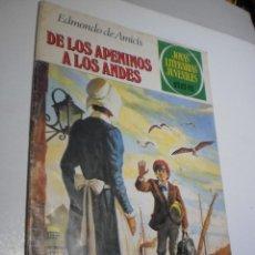 Tebeos: DE LOS APENINOS A LOS ANDES. EDMONDO DE AMICIS. JOYAS LITERARIAS Nº 75 1981 (ESTADO NORMAL). Lote 211515331