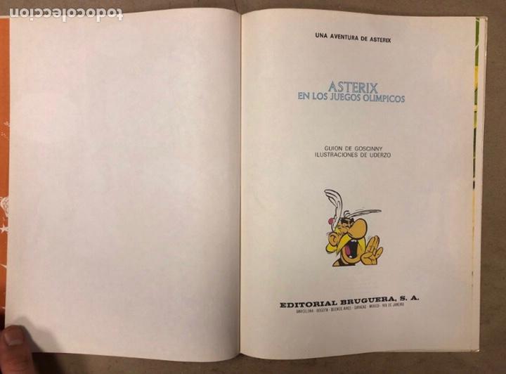 Tebeos: ASTERIX EN LOS JUEGOS OLÍMPICOS. EDITORIAL BRUGUERA 1968 - Foto 2 - 211521441