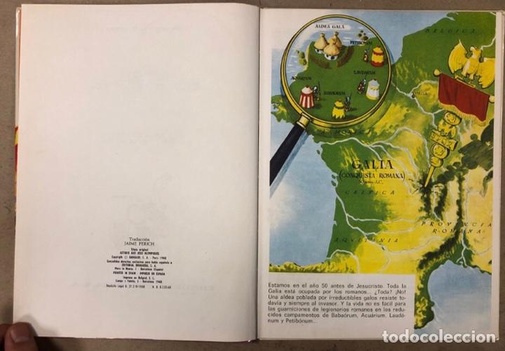 Tebeos: ASTERIX EN LOS JUEGOS OLÍMPICOS. EDITORIAL BRUGUERA 1968 - Foto 3 - 211521441