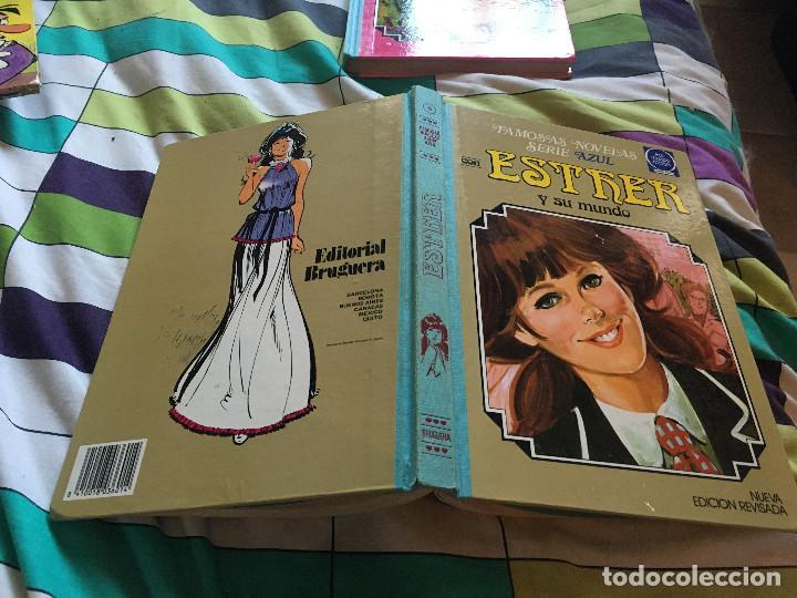 FAMOSAS NOVELAS SERIE AZUL ESTHER Y SU MUNDO. Nº 6. 3ª EDICIÓN 1985. (Tebeos y Comics - Bruguera - Esther)
