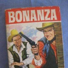 Tebeos: BONANZA. LA SOMBRA DEL LAGO TAHOE. COLECCION HEROES Nº 19. EDITORIAL BRUGUERA 1963.. Lote 211601689