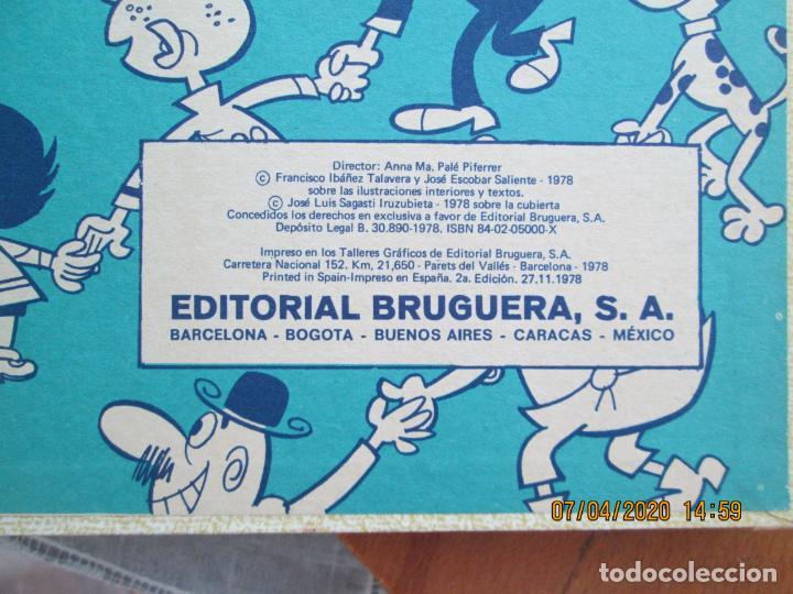 Tebeos: SUPER HUMOR MORTADELO VOLUMEN XV - 360 PAGINAS PEPE GOTERA , ZIPI Y ZAPE 1978 - Foto 4 - 211610421