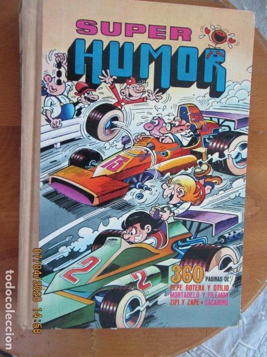 SUPER HUMOR MORTADELO VOLUMEN XV - 360 PAGINAS PEPE GOTERA , ZIPI Y ZAPE 1978 (Tebeos y Comics - Bruguera - Super Humor)