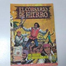 Tebeos: EL CORSARIO DE HIERRO NÚMERO 51 EDICIÓN HISTÓRICA 1989 EDICIONES B 987 EDICIONES B. Lote 211612262
