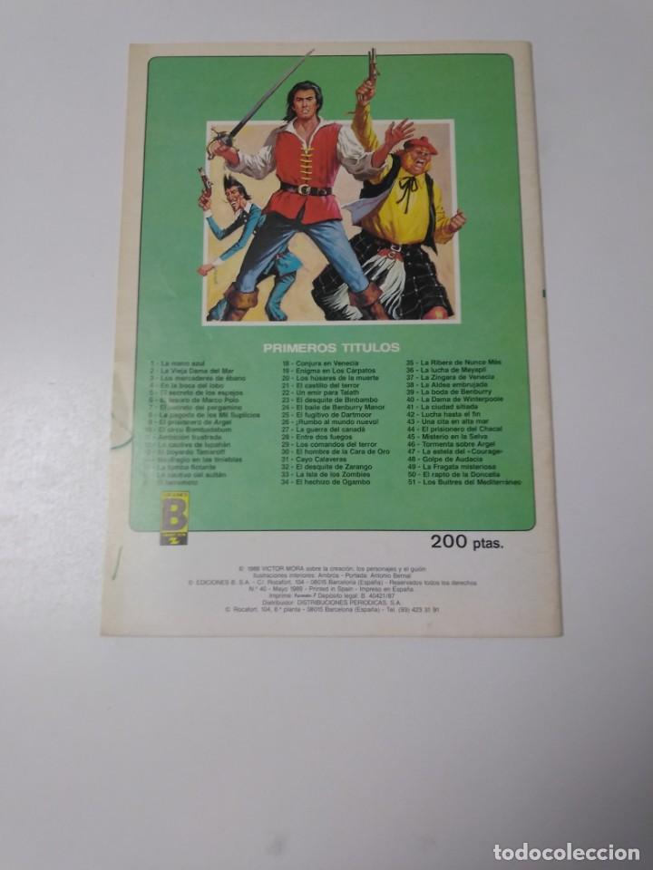 Tebeos: El Corsario de Hierro número 40 Edición Histórica 1989 Ediciones B 987 Ediciones B - Foto 2 - 211614699