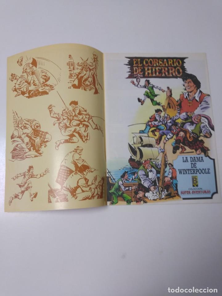 Tebeos: El Corsario de Hierro número 40 Edición Histórica 1989 Ediciones B 987 Ediciones B - Foto 3 - 211614699