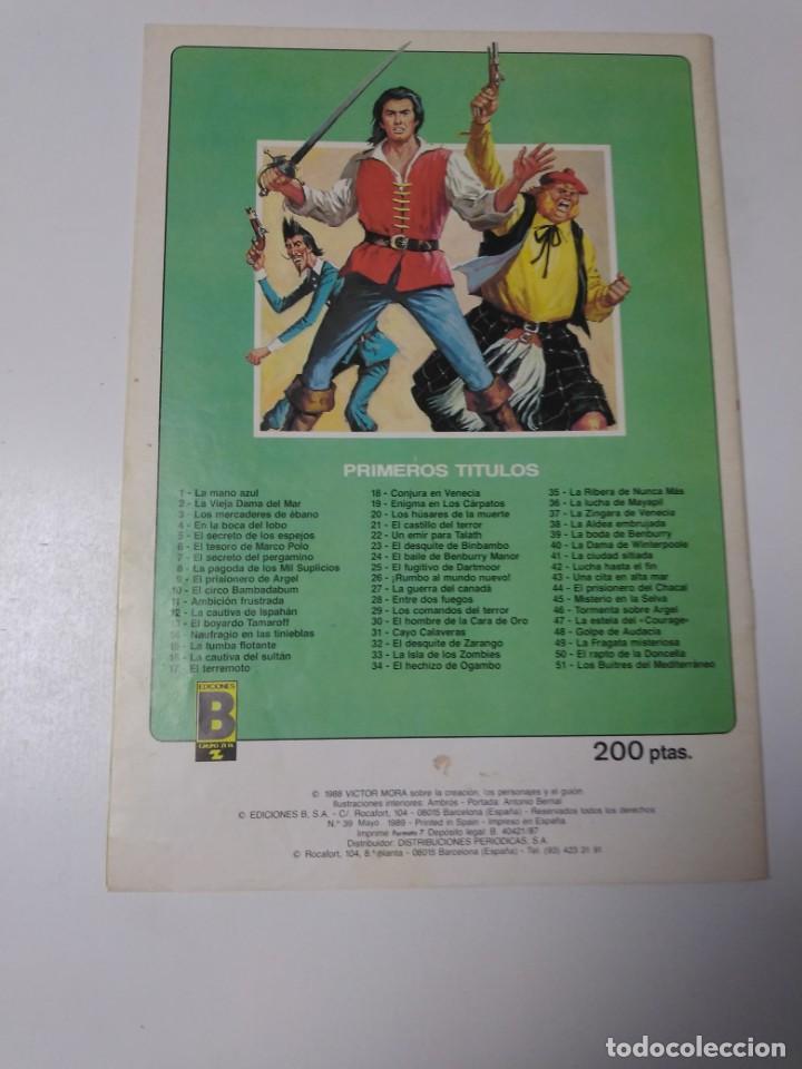Tebeos: El Corsario de Hierro número 39 Edición Histórica 1989 Ediciones B 987 Ediciones B - Foto 2 - 211614864
