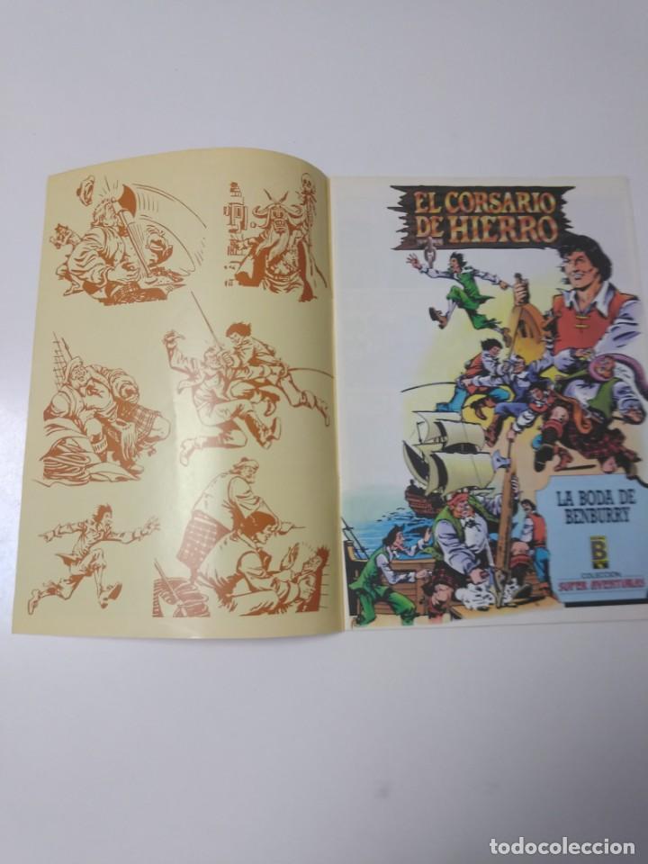 Tebeos: El Corsario de Hierro número 39 Edición Histórica 1989 Ediciones B 987 Ediciones B - Foto 3 - 211614864