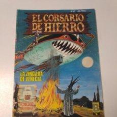 Tebeos: EL CORSARIO DE HIERRO NÚMERO 37 EDICIÓN HISTÓRICA 1989 EDICIONES B 987 EDICIONES B. Lote 211615041