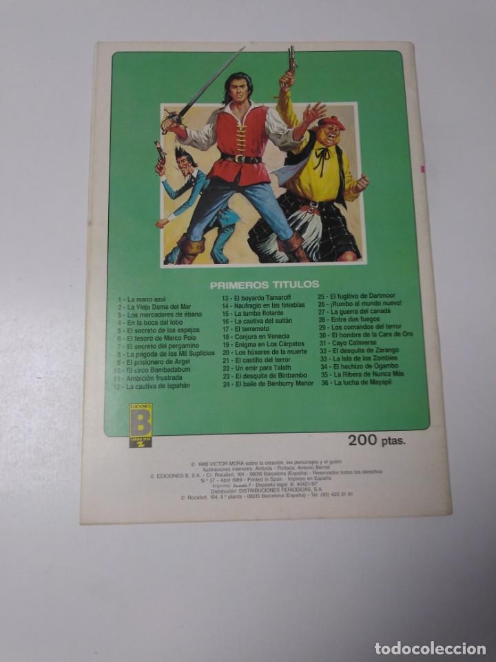 Tebeos: El Corsario de Hierro número 37 Edición Histórica 1989 Ediciones B 987 Ediciones B - Foto 2 - 211615041