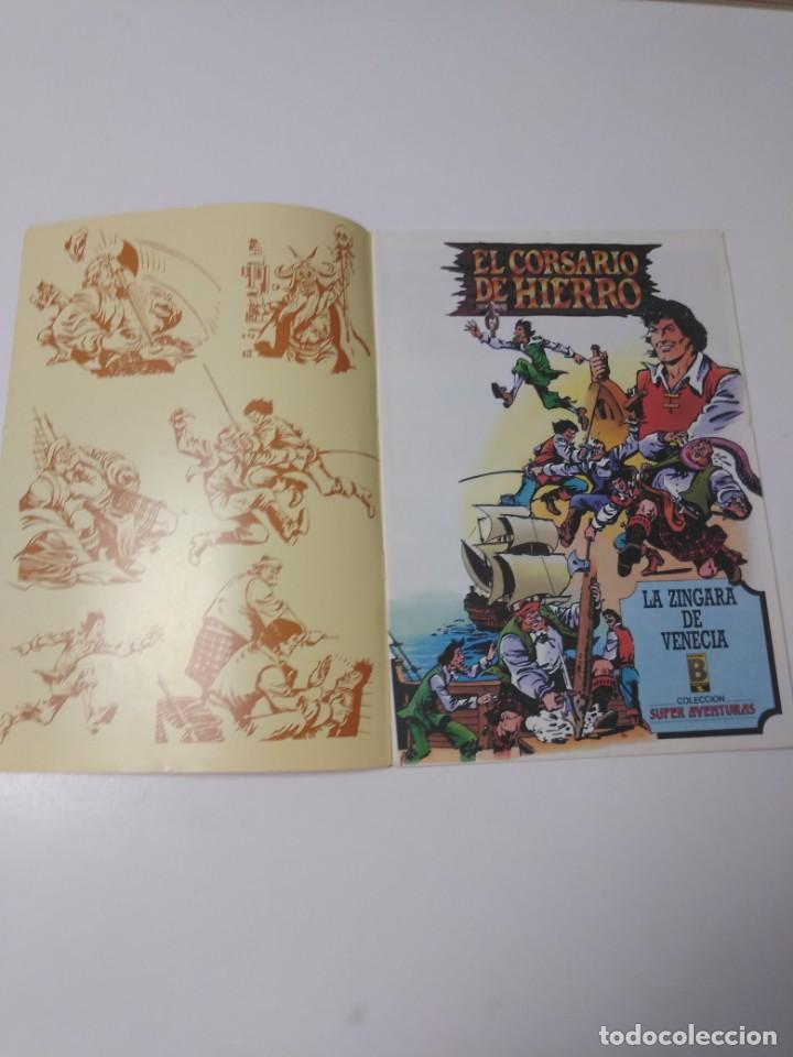 Tebeos: El Corsario de Hierro número 37 Edición Histórica 1989 Ediciones B 987 Ediciones B - Foto 3 - 211615041