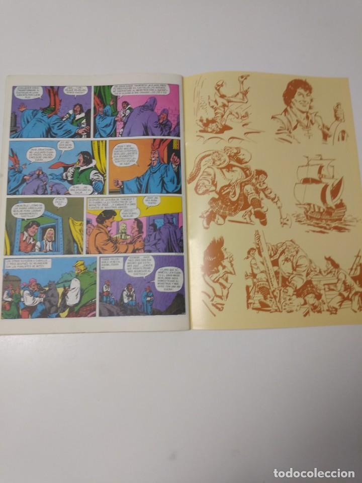 Tebeos: El Corsario de Hierro número 37 Edición Histórica 1989 Ediciones B 987 Ediciones B - Foto 6 - 211615041