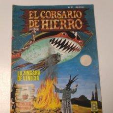 Livros de Banda Desenhada: EL CORSARIO DE HIERRO NÚMERO 37 EDICIÓN HISTÓRICA 1989 EDICIONES B 987 EDICIONES B. Lote 211615247