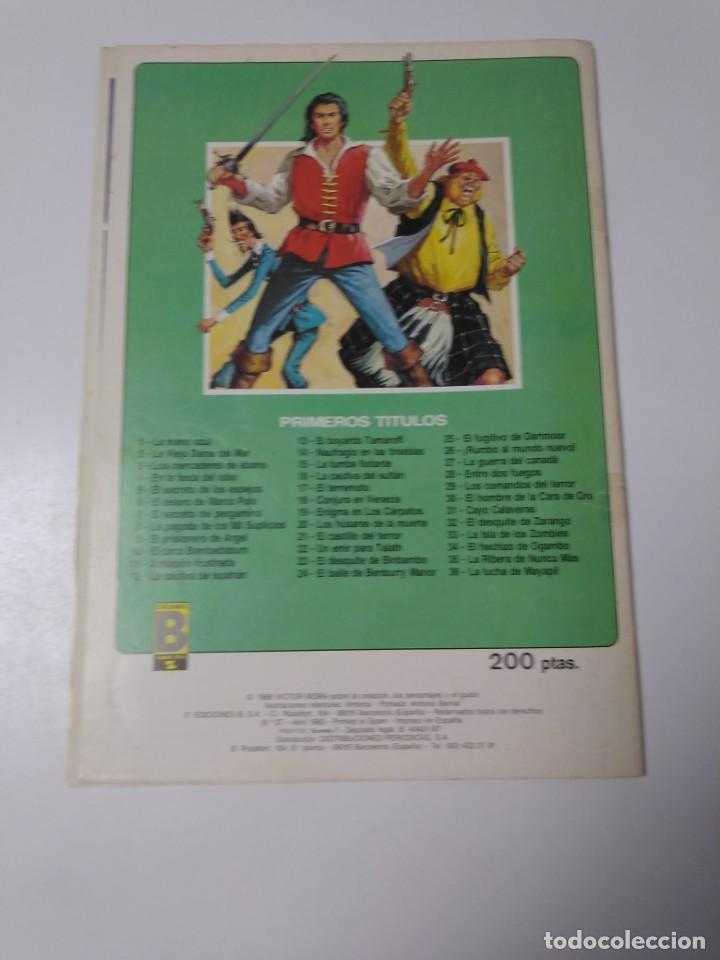 Tebeos: El Corsario de Hierro número 37 Edición Histórica 1989 Ediciones B 987 Ediciones B - Foto 2 - 211615247