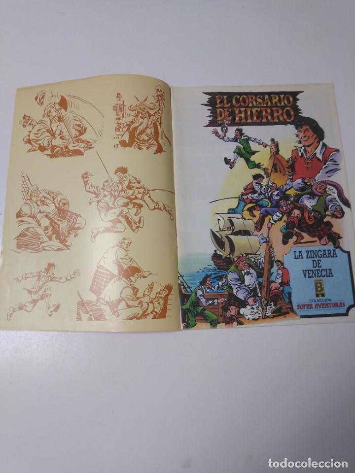 Tebeos: El Corsario de Hierro número 37 Edición Histórica 1989 Ediciones B 987 Ediciones B - Foto 3 - 211615247
