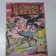 Tebeos: EL CORSARIO DE HIERRO NÚMERO 36 EDICIÓN HISTÓRICA 1989 EDICIONES B 987 EDICIONES B. Lote 211615489