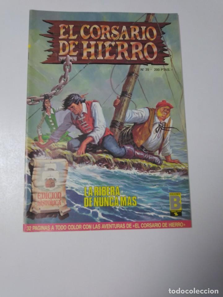 EL CORSARIO DE HIERRO NÚMERO 35 EDICIÓN HISTÓRICA 1989 EDICIONES B 987 EDICIONES B (Tebeos y Comics - Bruguera - Corsario de Hierro)