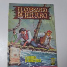 Tebeos: EL CORSARIO DE HIERRO NÚMERO 35 EDICIÓN HISTÓRICA 1989 EDICIONES B 987 EDICIONES B. Lote 211615736