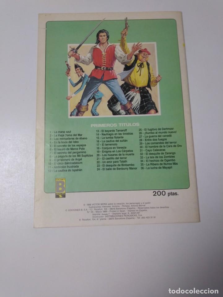 Tebeos: El Corsario de Hierro número 35 Edición Histórica 1989 Ediciones B 987 Ediciones B - Foto 2 - 211615736