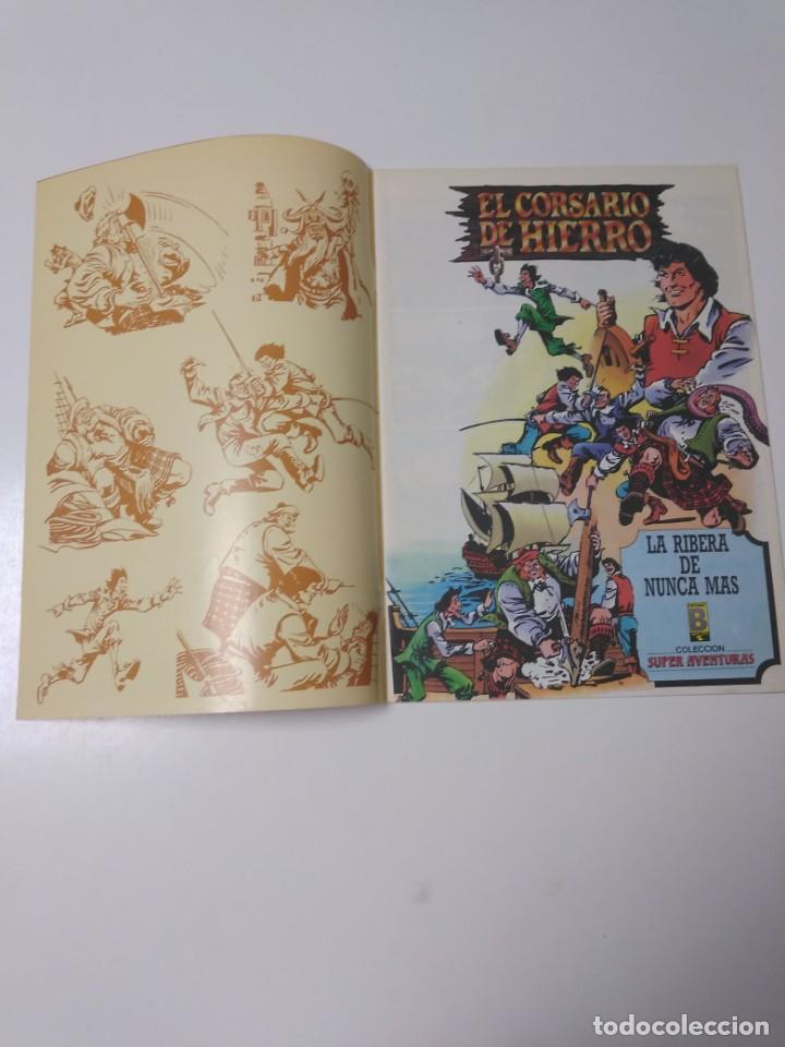 Tebeos: El Corsario de Hierro número 35 Edición Histórica 1989 Ediciones B 987 Ediciones B - Foto 3 - 211615736
