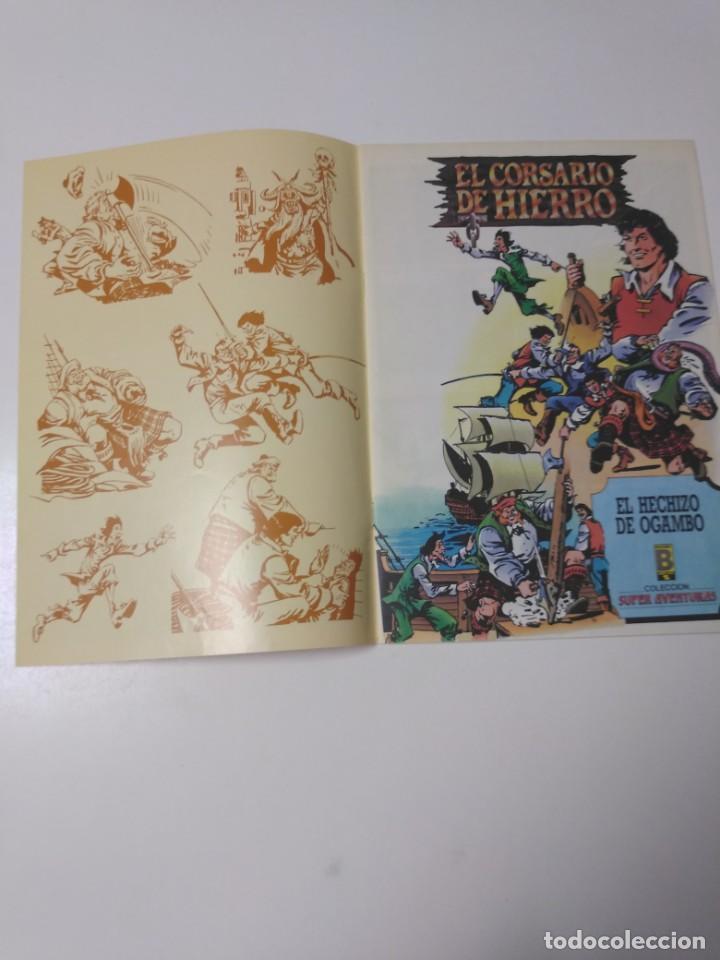 Tebeos: El Corsario de Hierro número 34 Edición Histórica 1989 Ediciones B 987 Ediciones B - Foto 3 - 211615897