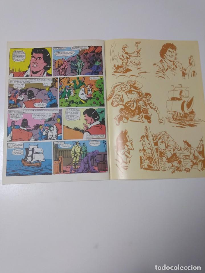 Tebeos: El Corsario de Hierro número 34 Edición Histórica 1989 Ediciones B 987 Ediciones B - Foto 6 - 211615897