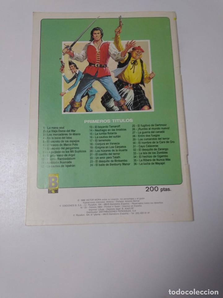 Tebeos: El Corsario de Hierro número 33 Edición Histórica 1989 Ediciones B 987 Ediciones B - Foto 2 - 211616279