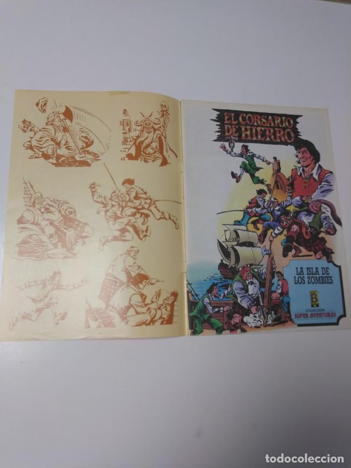Tebeos: El Corsario de Hierro número 33 Edición Histórica 1989 Ediciones B 987 Ediciones B - Foto 3 - 211616279
