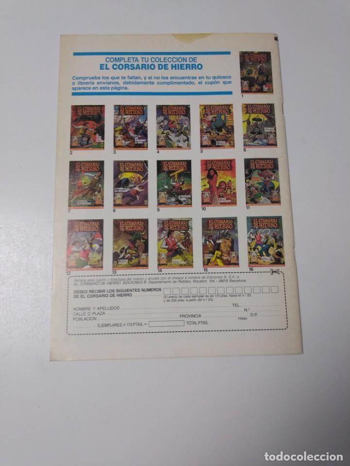 Tebeos: El Corsario de Hierro número 32 Edición Histórica 1989 Ediciones B 987 Ediciones B - Foto 2 - 211616460