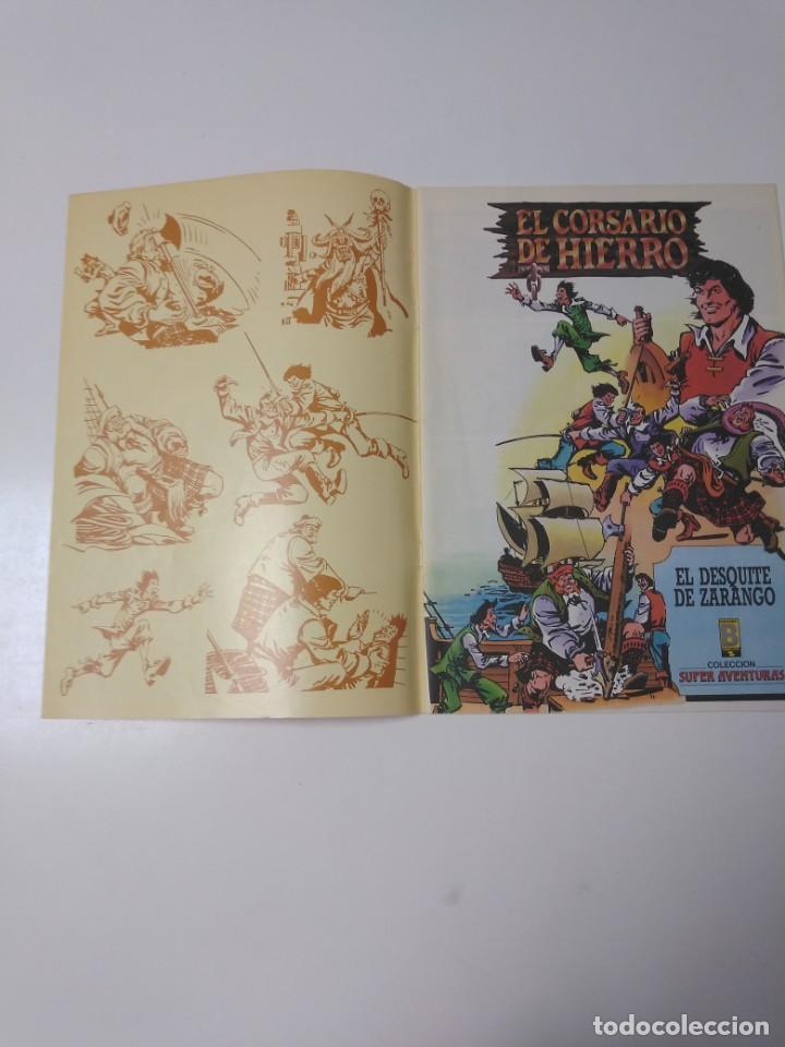 Tebeos: El Corsario de Hierro número 32 Edición Histórica 1989 Ediciones B 987 Ediciones B - Foto 3 - 211616460