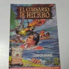 Tebeos: EL CORSARIO DE HIERRO NÚMERO 31 EDICIÓN HISTÓRICA 1989 EDICIONES B 987 EDICIONES B. Lote 211616620