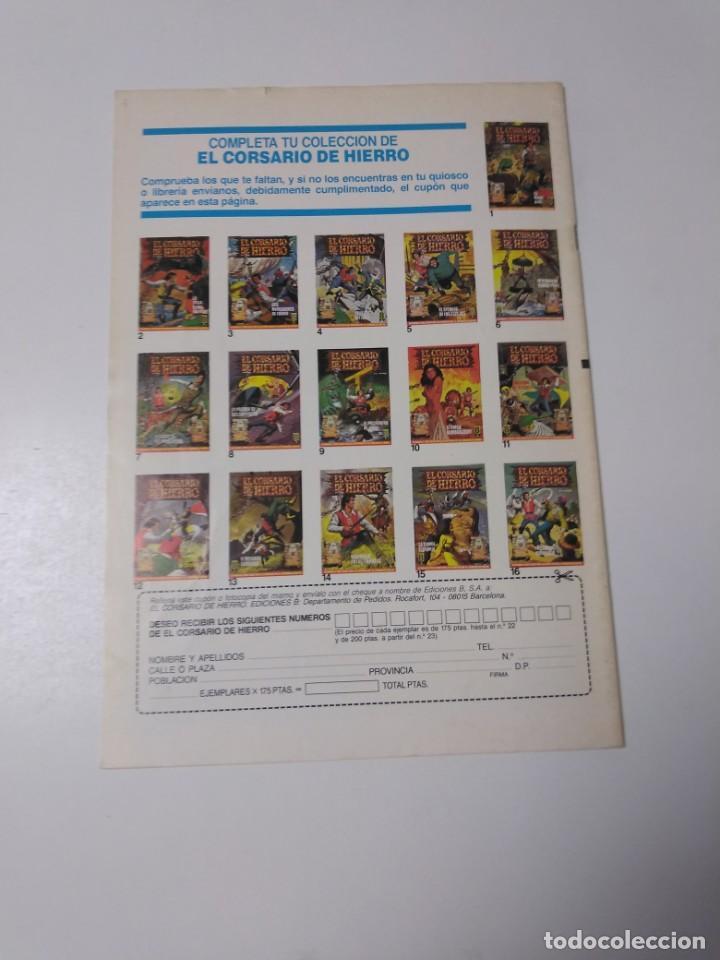 Tebeos: El Corsario de Hierro número 30 Edición Histórica 1989 Ediciones B 987 Ediciones B - Foto 2 - 211616746