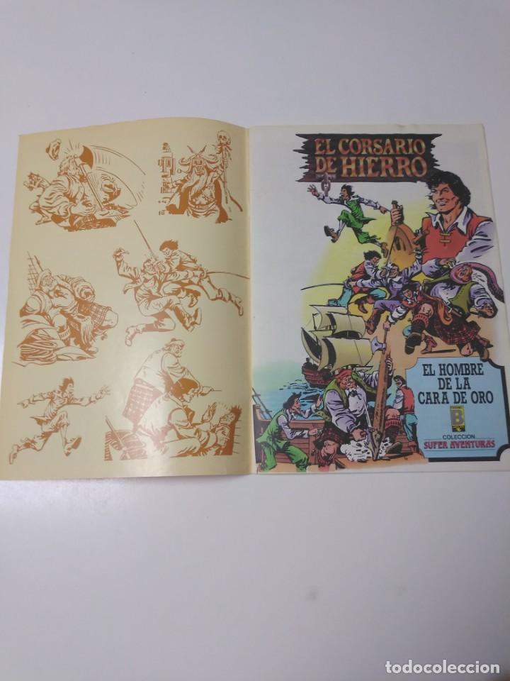 Tebeos: El Corsario de Hierro número 30 Edición Histórica 1989 Ediciones B 987 Ediciones B - Foto 3 - 211616746