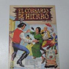 Tebeos: EL CORSARIO DE HIERRO NÚMERO 29 EDICIÓN HISTÓRICA 1988 EDICIONES B 1989 EDICIONES B 987 EDICIONES B. Lote 211616936